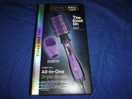 InfinitiPRO by Conair The Knot Dr. Detangling Hot Air Brush BC116 Brand new - $34.54