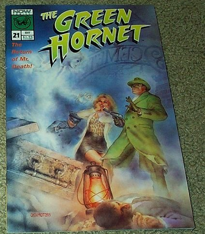 "The Green Hornet No. 21 May ""The Return of Mr. Death"" (Vol. 2) [Comic] by Ron..."