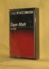 Super Math Timex Sinclair 1000 Software - 16K RAM (Cassette) Vintage Software image 1
