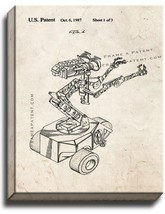 Short Circuit Movie Number 5 Robot Patent Print Old Look on Canvas - $39.95+