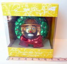 Emmett Kelly Jr. European style Molded Glass Ornament exclusively Flambr... - $44.06