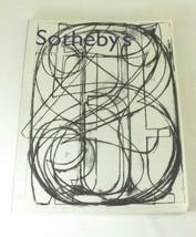 Sothebys NY Auction Catalog Prints May 2001 - $23.33
