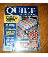 Quilt Almanac 1984 Vol 4 No 1 By The Editors of Quilt - $3.00