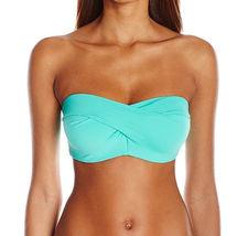 NEW Coco Reef Sea Blue Polka Dot Convertible Five Way Bikini Swim Top 36/38 D image 7