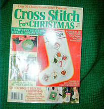 Cross Stitch For Christmas Magazine 1986 Issue - $3.00