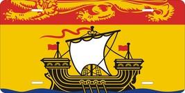 New Brunswick Canada Flag Personalized Custom Novelty Tag Vehicle Car Au... - $16.75