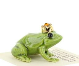 Birthstone Frog Prince November Simulated Citrine Miniatures by Hagen-Renaker image 5