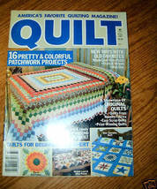 Quilt, America's Favorite Quilting Magazine! Fall 1987 - $3.00