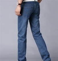 Men's fashion classic wash jeans image 7