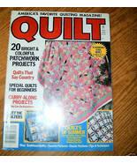 Quilt,America's Favorite Quilting Magazine! Summer 1986 - $3.00