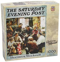 MasterPieces Saturday Evening Post Homecoming Marine - 1000 Piece Jigsaw... - $14.99