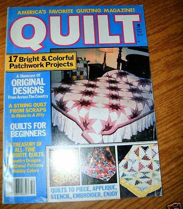 Quilt Americas Favorite Quilting Magazine Winter 1985