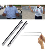 2 Pcs Brass Sliver Dowsing Divining Rods Water Witching Lost Objects - $9.99