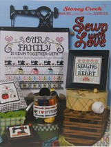 2013 Stoney Creek Collection Cross Stitch  Sewn With Love  Book #463 - $9.90