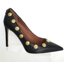 "NEW VALENTINO ""RARE!""Gryphon Studded Leather Pumps, Black (Size 36.5)- $... - $599.95"