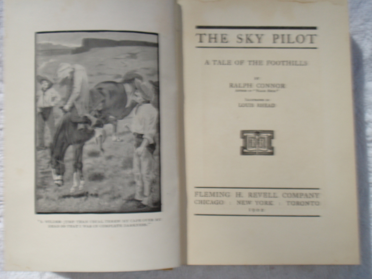 The Sky Pilot: A Tale of the Foothills by Ralph Connor
