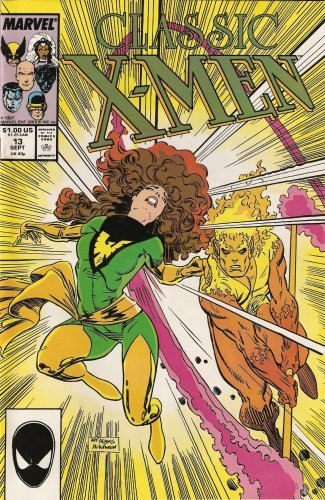 Classic X-Men #13 Vol. 1 September 1987 [Comic] by Chris Claremont; Dave Cock...
