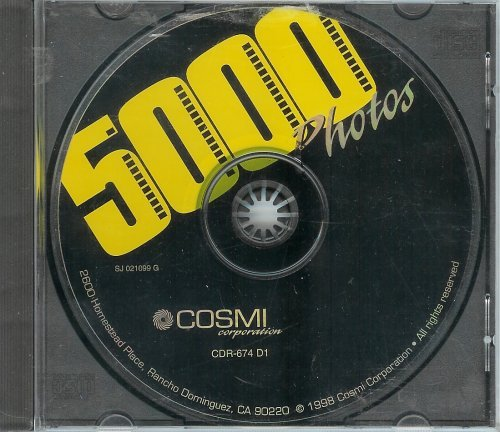 5,000 Photos [CD-ROM] by Cosmi Software