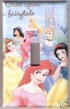 Single Light Switchplate Cover Disney Princess Castle - $6.75