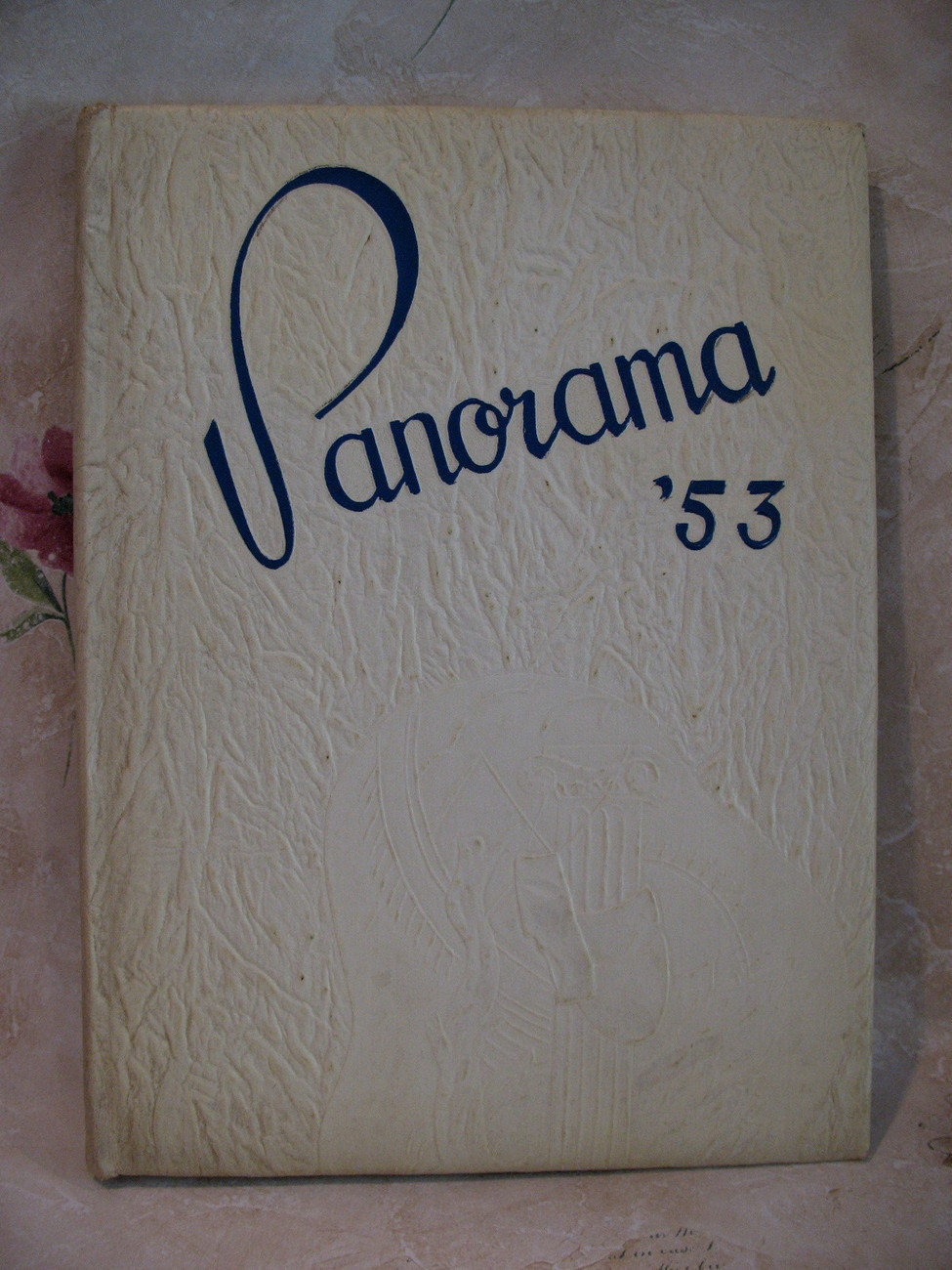 Suffern High School Yearbook Panorama 1953 New York