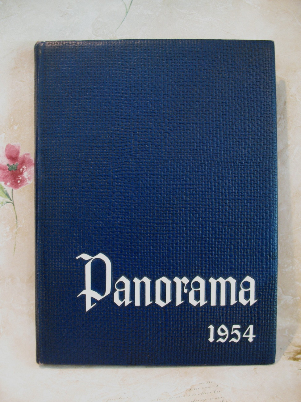 Suffern High School Yearbook Panorama 1954 New York