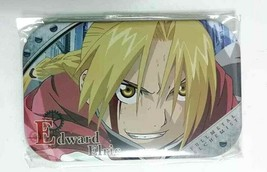 Fullmetal Alchemist Square Can Badge Button Edward Elric Hagaren Hiromu ... - $25.73