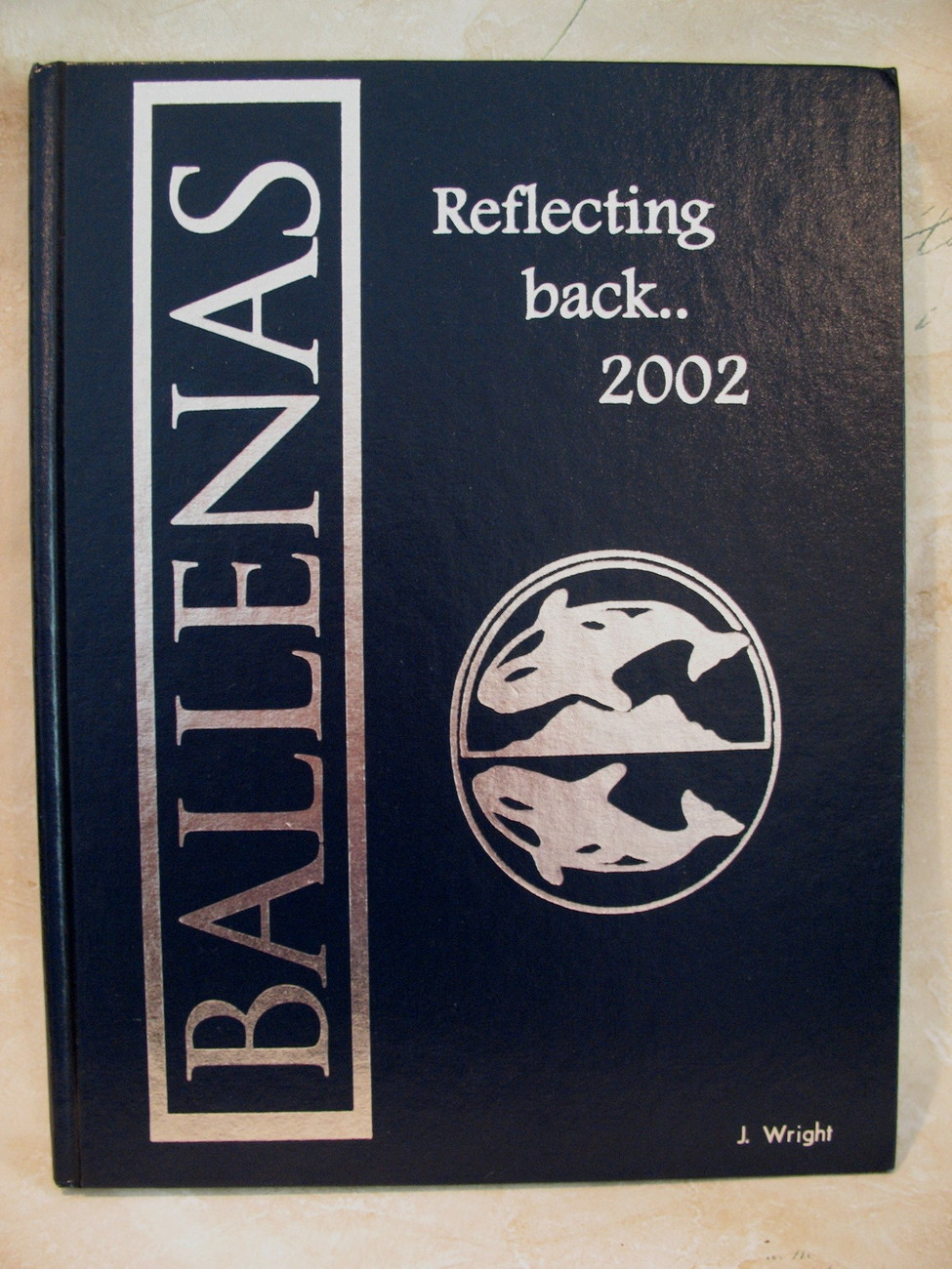 Ballenas Secondary School Yearbook 2002 Parksville BC