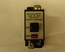 Matsushita Circuit Breaker 5A - $16.00