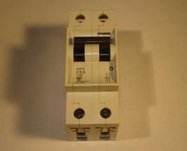 Siemens 2 Pole Circuit Breaker 5SX22 C0.5 - $10.00