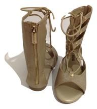 Michael Kors Golden Gladiator Sandals Size 4 - $28.04