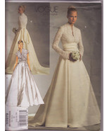 Vogue 2979, Wedding Dress, Pattern 2979, Size 12-14-16, Lined Dresses, B... - $22.00