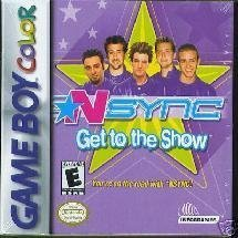 N*Sync: Get to the Show [Game Boy Color]