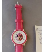 Disney Minnie Mouse Watch with Pink Band  - $6.00