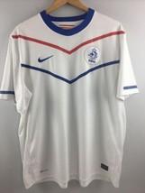Nike 2010 FIFA Netherland National Soccer Team Jersey XXL 2XL KNVB White - $54.45