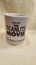 THE PEANUTS MOVIE Coffee Mug - Rare Promotional Edition - Snoopy Woodstock - $18.53