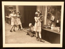 RUTH ORKIN Photograph Comic Book Readers 1948 9x12 Lithograph Portfolio ... - $23.19