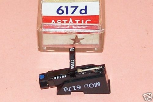 ASTATIC 617d for EV 5277D EV 5279D PHONOGRAPH CARTRIDGE NEEDLE