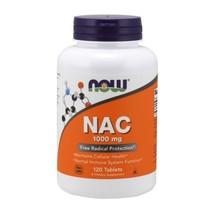 N-Acetyl-L-Cysteine (NAC), 1000 mg, 120 Tabs by Now Foods - $14.62