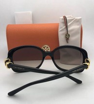 New TORY BURCH Sunglasses TY 7101 1378/13 Tortoise Frame w/Brown Gradient Lenses