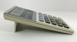 VTG SHARP Calculator EL-334S Elsi Mate Kick Stand 10 Digit Twin Power Solar - $19.79