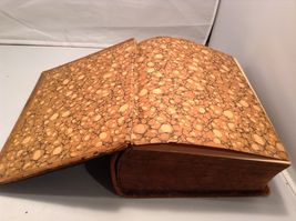 Antique Leather Bound Webster Dictionary  image 7