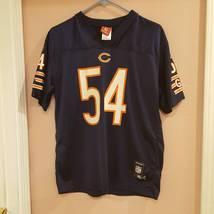Urlacher #54 Chicago Bears American Football Jersey Nfl Xl Youth 18-20 - $18.00