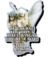 The Dark Crystal Movie You Don't Have Wings Funky Chunky 3-D Die-Cut Mag... - $5.94
