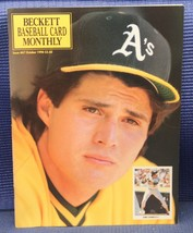 JOSE CONSECO COVER - Beckett Baseball Card Monthly October 1990 Issue 67 - $9.95