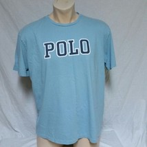 VTG Polo Ralph Lauren Spell Out T Shirt 90s Tee Bear Stadium Cookie Scribble XL - $34.99