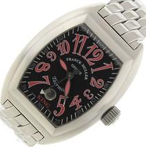 Rare Men's Franck Muller Geneve King Taormina Stainless Steel 8005 SC Watch - $5,798.98