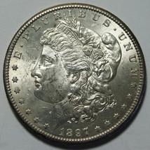 1897S MORGAN SILVER DOLLAR COIN Lot# A 2100