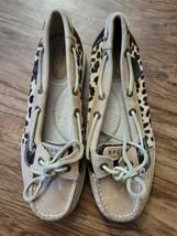 Sperry Top-Sider Leopard Print Shoe - 6M - $35.00