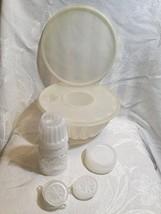 Vintage Tupperware Jel-N-Serve Mold Mold Complete Set 19 Piece - $29.99