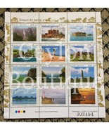 Unseen Sri Lanka 12 Stamps in Sheetlet - $7.61